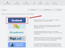 how to add the snapengage facebook plugin snapengage live chat