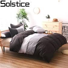Japanese Bedding Sets Japanese Style Duvet Covers Solstice Simple Stripes Style Duvet