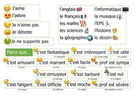 french subjects emoji speaking mat by magisterlinguarum