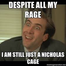 Chill Out Meme - so chill out and just accept it nicolas cage and humor