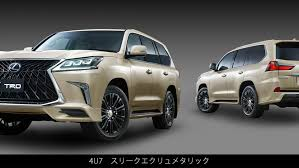 lexus lx new trd japan reinvents the lexus lx front grille with new body kit