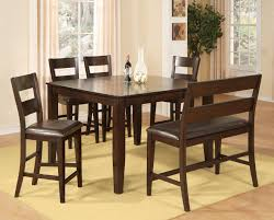 Pub Dining Room Tables Holland House Bend 6 Piece Pub Table Chairs And Bench Set