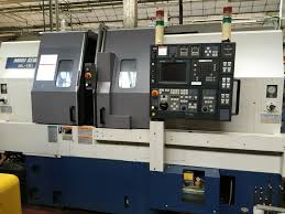 sale of lathe cnc used 2 axis autoteaching bar loading