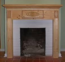 fireplace wood pillar fireplace mantel with fireplace surrounded