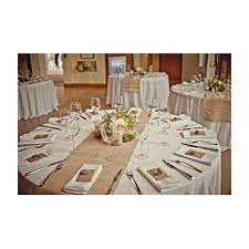 burlap table runners rustic weddings or events 102x15