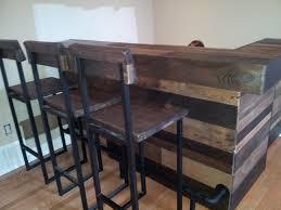 Wooden Pallet Furniture Upclaimed Wood Pallet Bar Paliture Com Inspiring Ideas