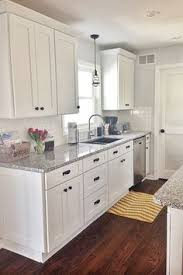 kitchen cabinet and countertop ideas kitchen cool white shaker kitchen cabinets with granite