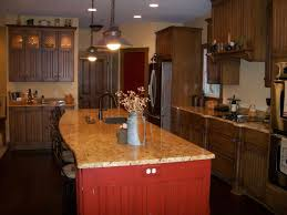 primitive kitchen island hostetler builders