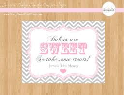 charming baby shower candy buffet labels 23 for your baby shower