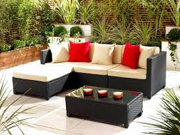 Small Space Patio Furniture Sets Outdoor Furniture Small Space Patio Ideas Garden Rattan