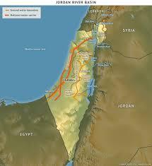 Jordan River Map Water Politics Israel U0027s Water Challenge