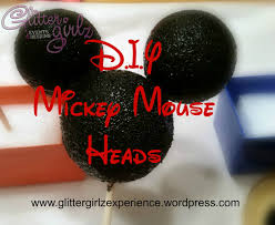 Mickey Mouse Center Pieces D I Y Mickey Mouse Head For Centerpieces Glitter Girlz Events