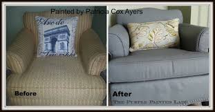 Chalk Paint Furniture Images by Using Chalk Paint To Paint Your Couch Or Wing Back Chair The