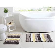 Gray Bathroom Rug Sets Better Homes And Gardens Braided 2 Piece Bath Rug Set Walmart Com