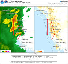Bonita Springs Florida Map by Tornado Warning Including Naples Fl Bonita Shores Fl