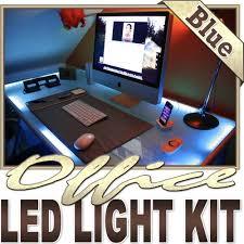 Under Desk Lighting Biltek 3 3 U0027 Ft Blue Home Office Desk Computer Remote Controlled