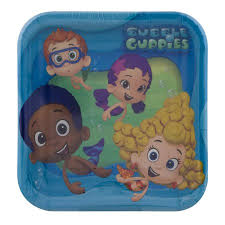 designware plates bubble guppies 8 ct walmart