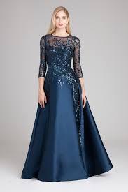 silk dresses a line silk gazar sequin gown teri jon