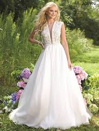 jovani wedding dresses jovani 22374 tailored wedding gowns