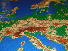 A Map Of Europe A Map Of Europe Made Out Of Lego U2013 Veryspatial