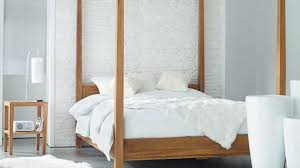 Modern Canopy Bed Frame Contemporary Canopy Bed Designs Stylish Pertaining To House