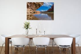 colorado river reflections rogue aurora photography landscape wall art print of reflections on the colorado river near moab utah hng in