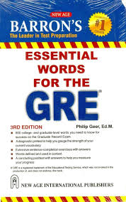 barron s essential words for the gre 3rd edition buy barron s