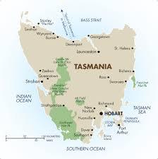 map of tasmania australia tasmania australia australia vacations 2018 19 goway travel