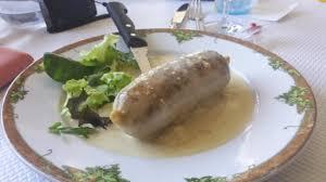 cuisine au vin blanc andouillette au vin blanc picture of au bois joli hilaire