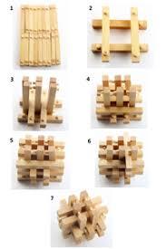 large wooden pieces 15 buchanan s split rail puzzle