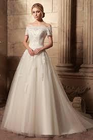 off the shoulder ball gown wedding dresses snowybridal com