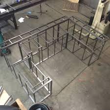 bbq island frame u2014 ntk fabrication