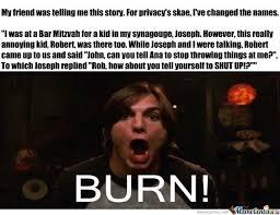 Kelso Burn Meme - burn meme