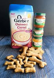 dog biscuits made from baby food my life cookbook
