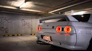 nissan gtr youtube top speed nissan skyline r32 gtr exhaust car park sound check youtube