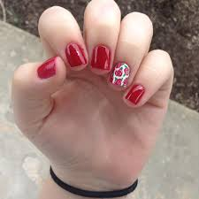 red nail art designs ideas design trends premium psd vector