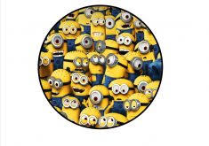 minions cake toppers cake toppers itsdelicious
