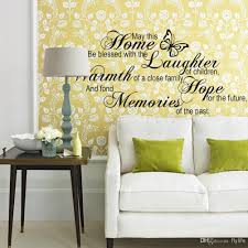 Decoration Kids Wall Decals Home by Home Laughter Warmth Hope Memories Wall Stickers Home Decor Diy