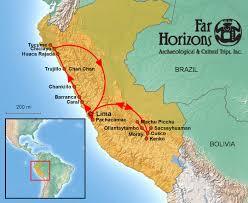 Lima Map Far Horizons Peru Tour Map Far Horizons