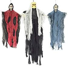 15 spooktacular outdoor halloween decorations jpg amazon com spooktacular creations set of three hanging skeleton