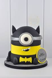 minions cake batman themed minion cake juniper cakery bespoke cakes in