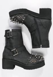 mens buckle biker boots jeffrey campbell cowboy biker boots black silver men je712e001