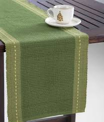 fab india am09 cotton tanka woven heavy table runner buy fab