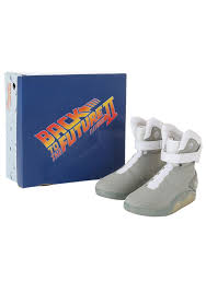 Marty Mcfly Costume Back To The Future 2 Light Up Shoes Size 7 Amazon Co Uk Toys U0026 Games