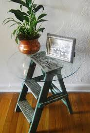 25 Best Ideas About Side Table Decor On Pinterest Side by Best 25 Small Step Ladders Ideas On Pinterest What To Plant