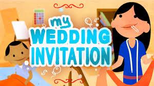 E Wedding Invitation Cards Free Online Animated Wedding Invitation Youtube