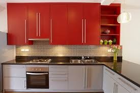 Kitchen Cabinets Painted by Kitchen Red Painted Kitchen Cabinets Paint Colors For Kitchen