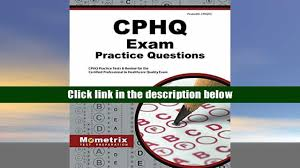 popular book cphq exam practice questions cphq practice tests