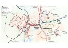 Baltimore Bus Routes Map 150 Bus Route Map The Best Bus