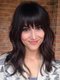 medium length hairstyles front and back with bangs 36 modern medium hairstyles with bangs for a new look medium